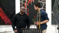 Grzegorz Rogala i Frank Parker, koncert jazzowy w BWA.